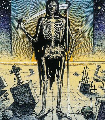 Cosmic Tarot Death card
