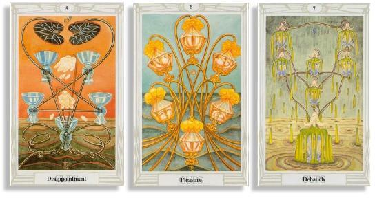 thoth tarot cards corresponding to scorpio