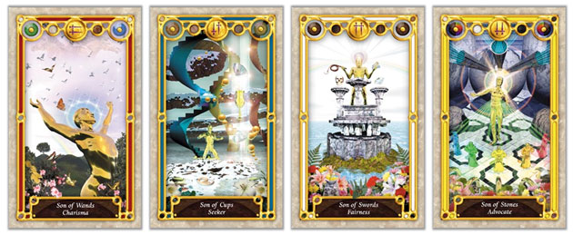 tarot court cards knights and princes