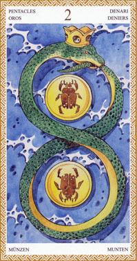 lo-scarabeo-tarot-pentacles-two